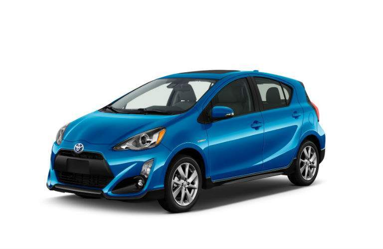 More technology features are added to the 2018 Prius C Three