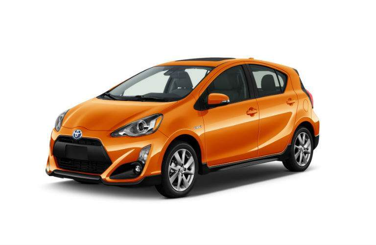 The Prius C Four is the top of the line model and has the most features available