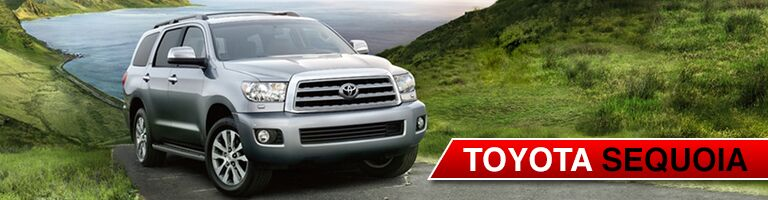 new toyota sequoia at heritage toyota