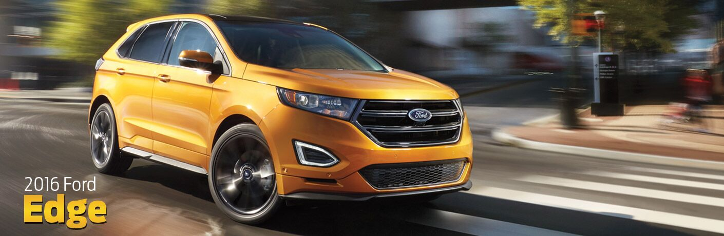 2016 ford edge exterior orange
