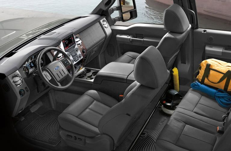 2016 ford f-250 interior storage