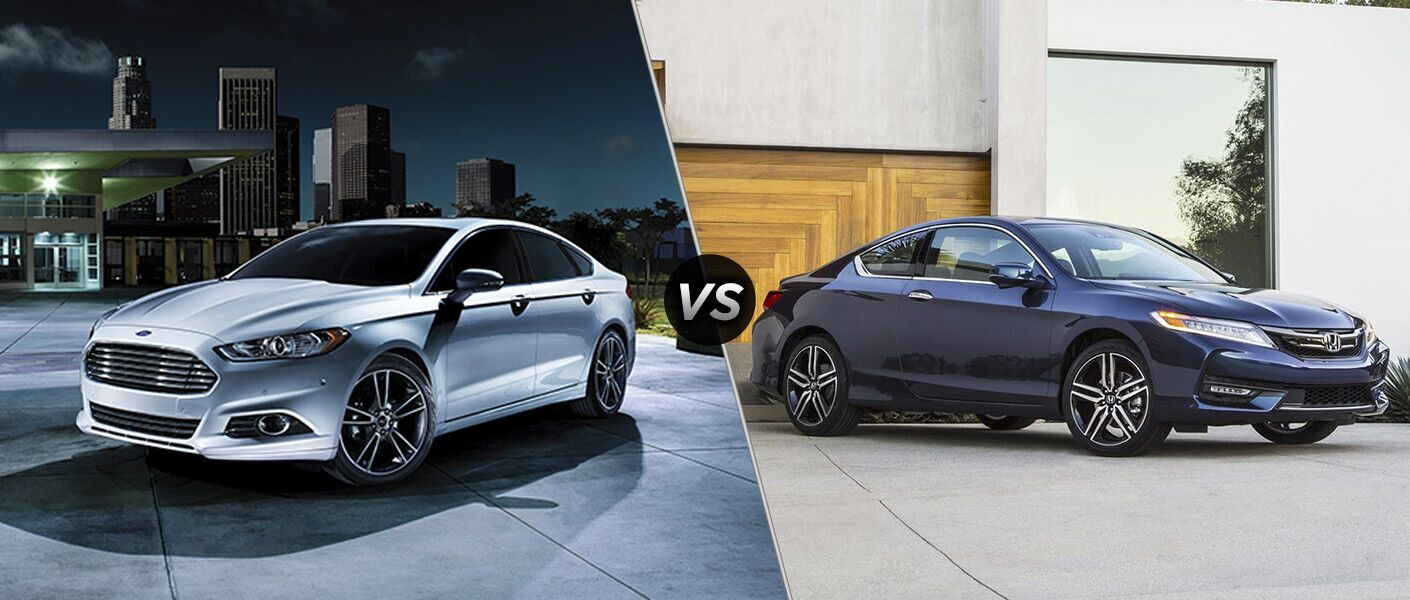 2016 ford fusion vs 2016 honda accord