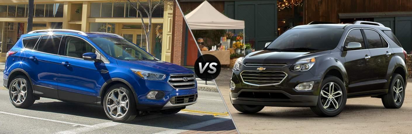 2017 Ford Escape vs 2017 Chevy Equinox