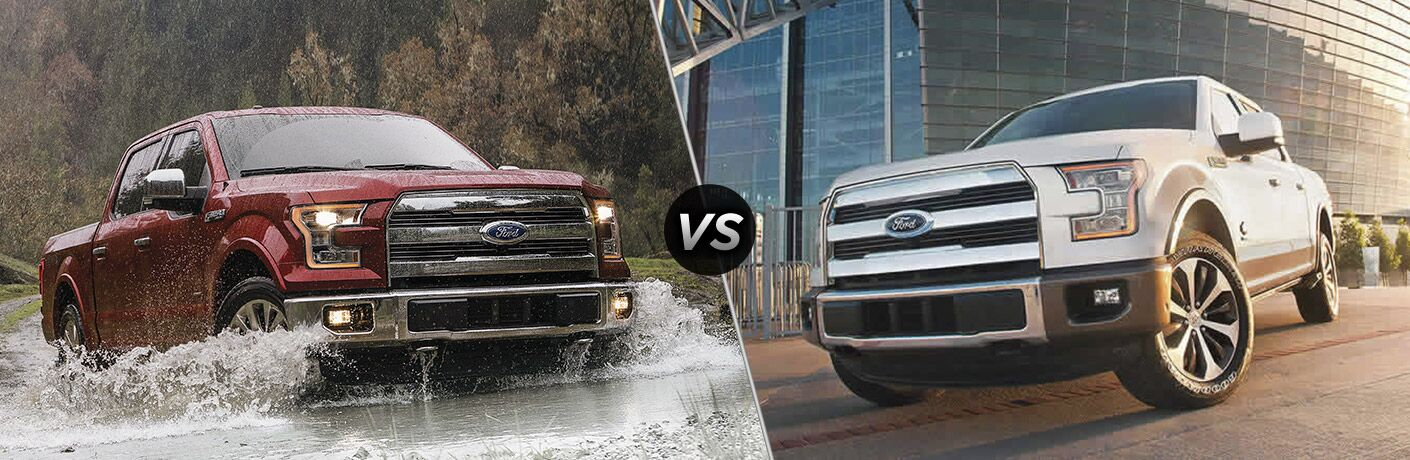 2017 Ford F-150 Lariat vs 2017 Ford F-150 King Ranch