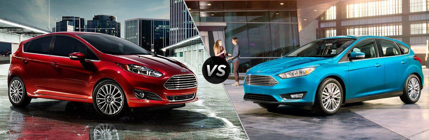 2017 Ford Fiesta vs 2017 Ford Focus