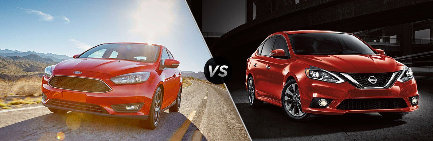 2017 Ford Focus vs 2017 Nissan Sentra