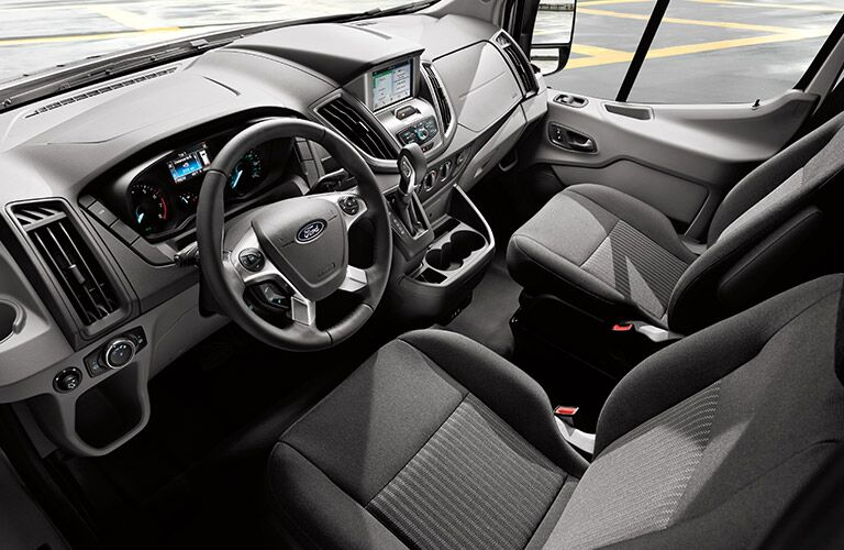 2017 ford transit interior front seats