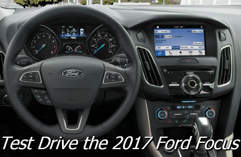 where can i test drive the 2017 ford focus in burlington vt?