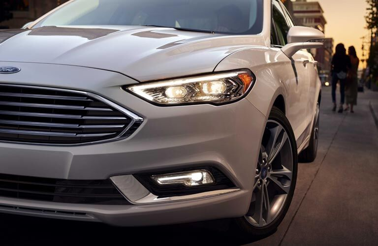 2017 ford fusion energi grille headlights front
