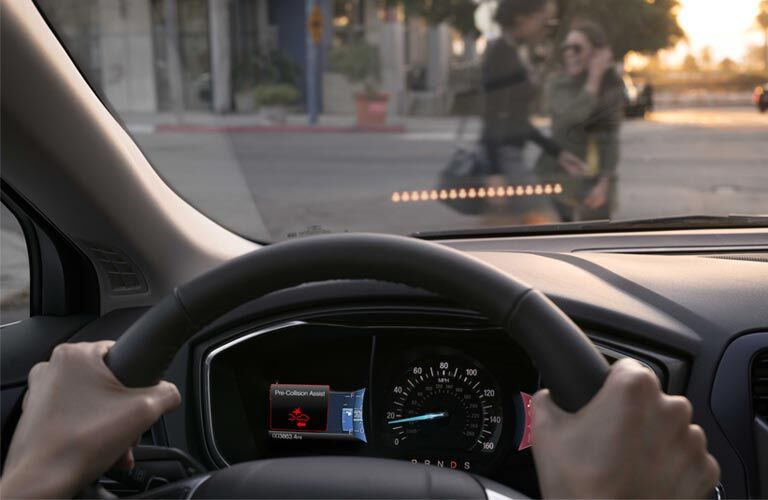 2017 ford fusion energi steering wheel dash safety features