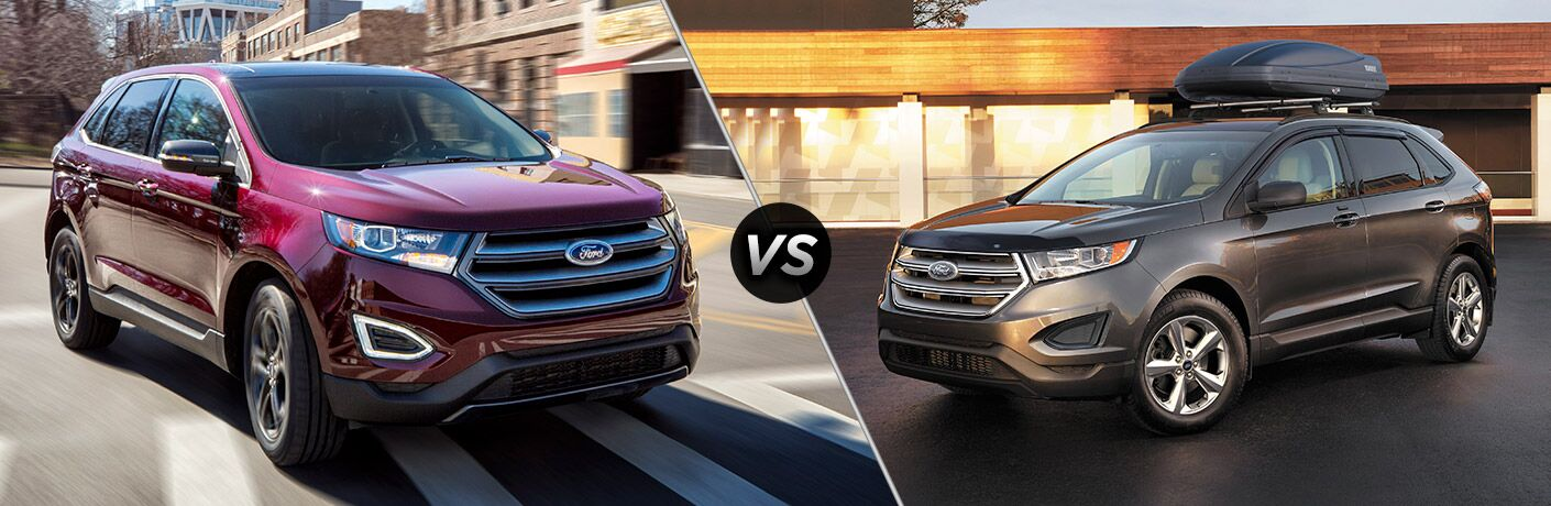 2018 Ford Edge vs 2017 Ford Edge