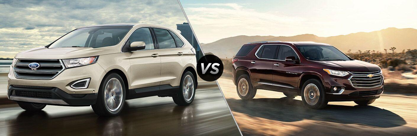 2018 Ford Edge vs 2018 Chevy Traverse