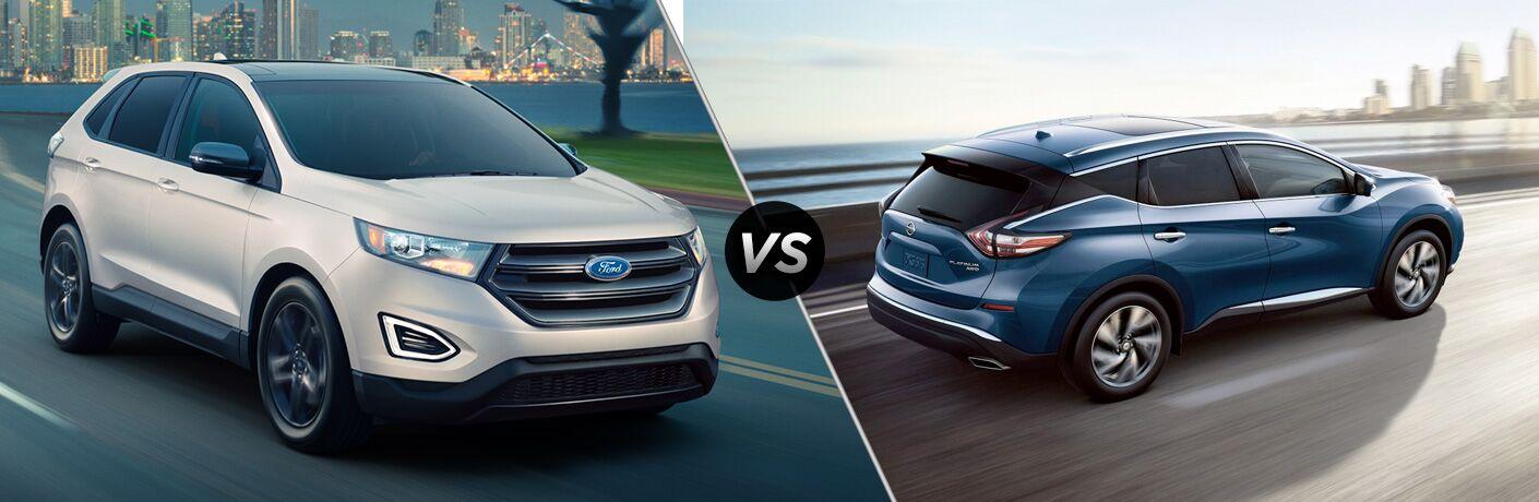 2018 Ford Edge vs 2018 Nissan Murano