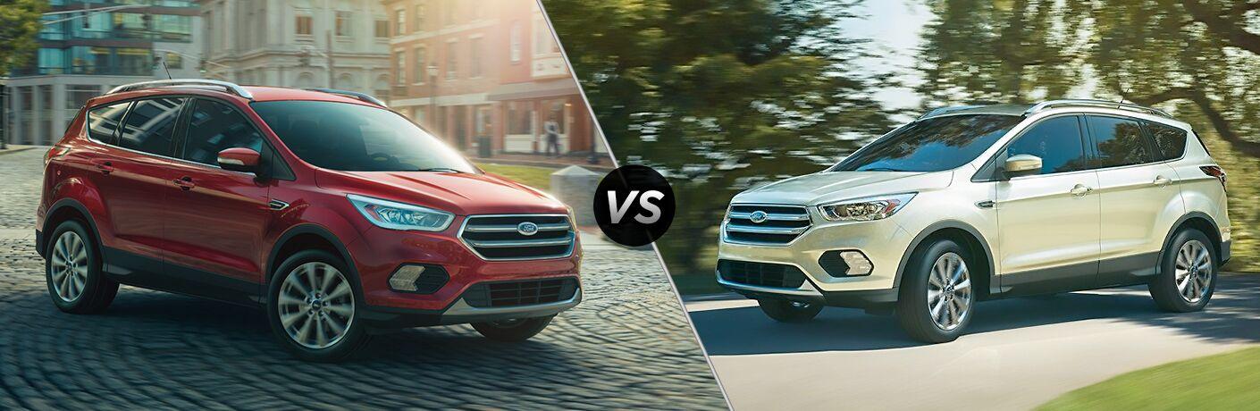 2018 Ford Escape vs 2017 Ford Escape