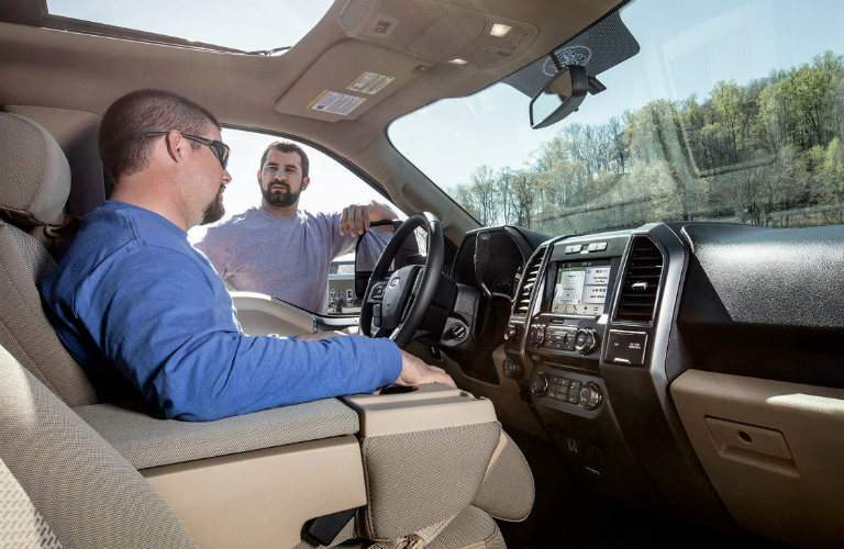 test drive the 2018 ford f-150 xlt in burlington vt