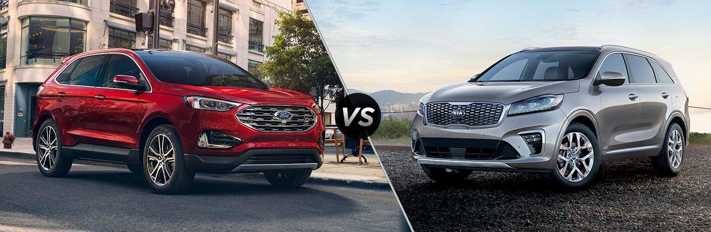 2019 Ford Edge vs 2019 Kia Sorento