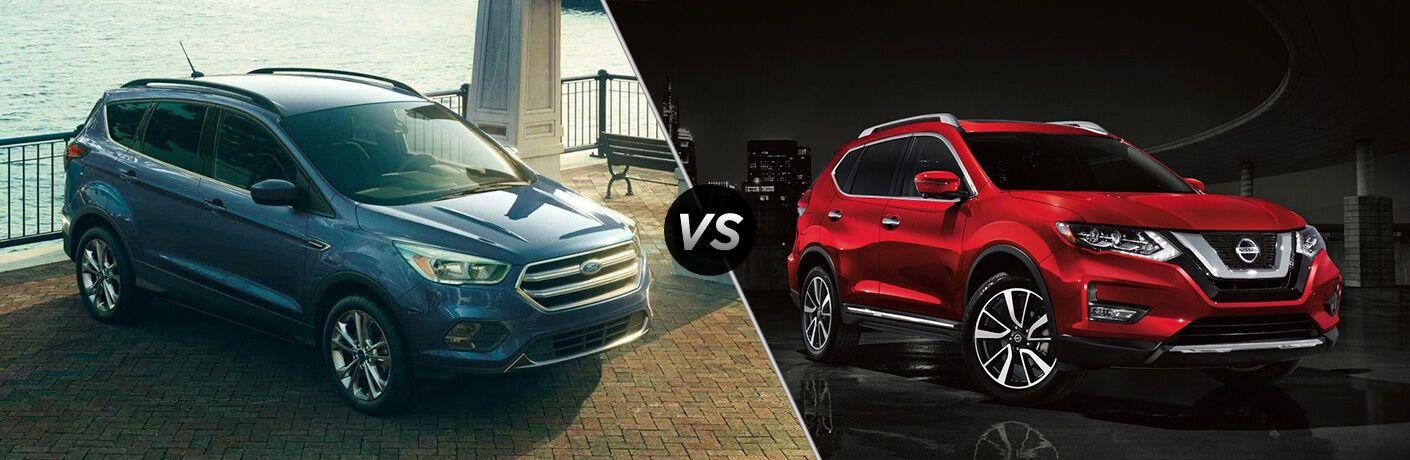 2019 Ford Escape vs 2019 Nissan Rogue