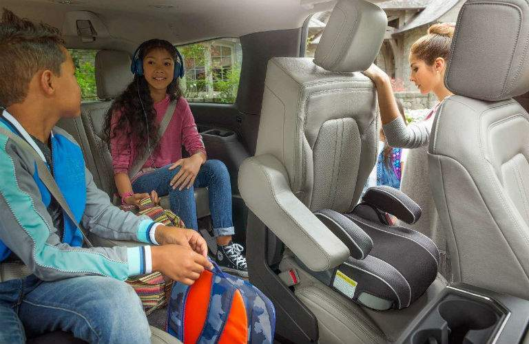 The interior of the 2018 Ford Expedition is very adaptable for large families