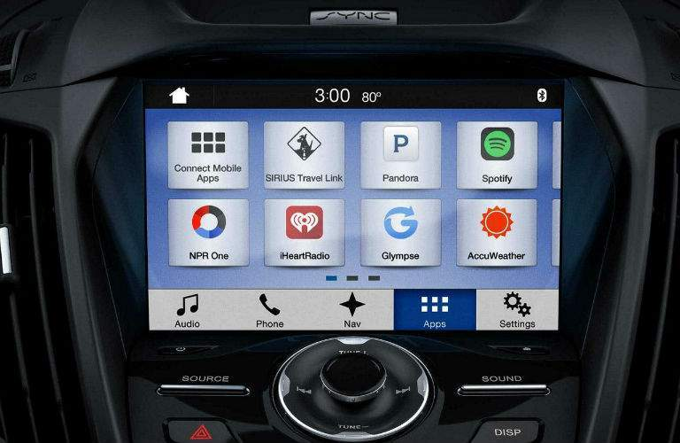The Sync 3 infotainment system allows for a high degree of device integration