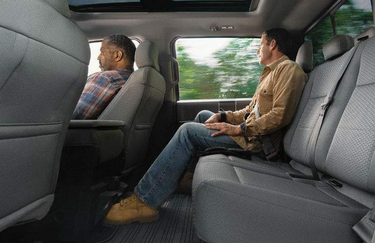 All passenger will find comfort in all seats in the 2018 F-150.
