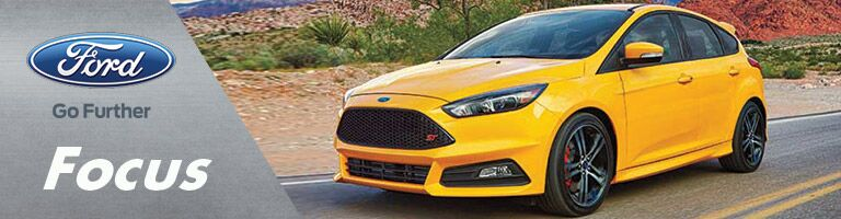 2016 ford focus yellow exterior