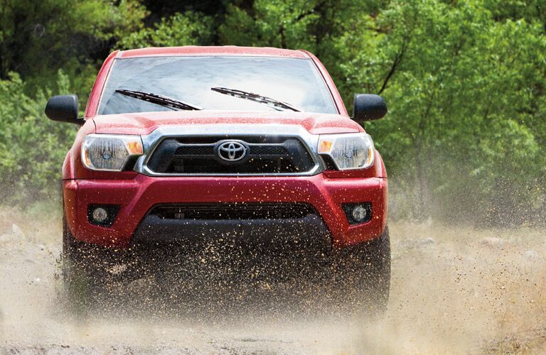 Red 2015 Toyota Tacoma Exterior
