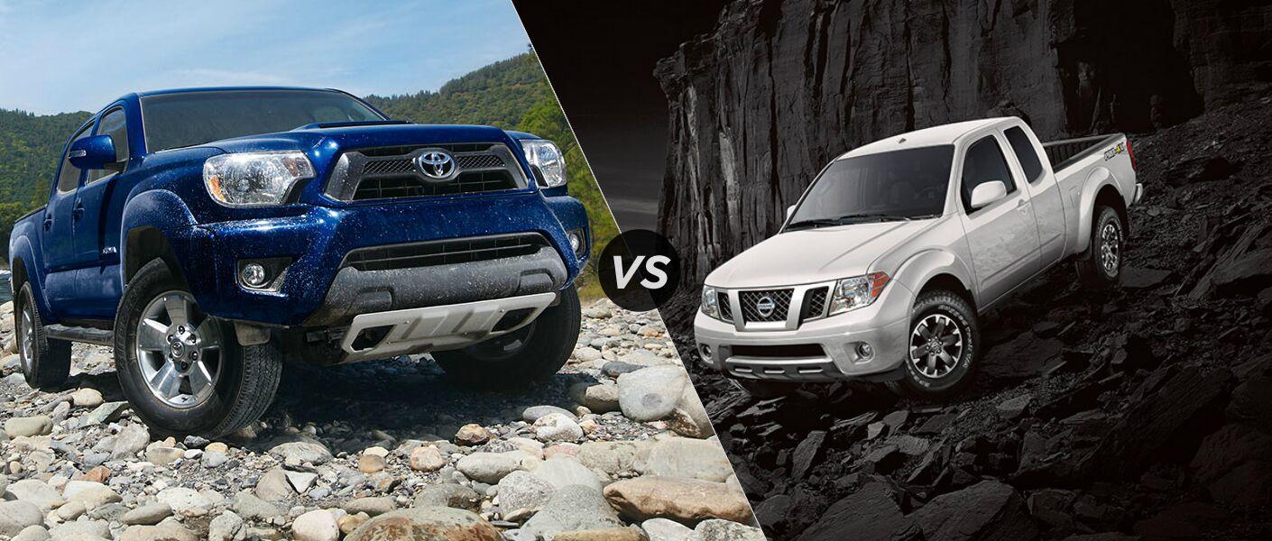 2015 Toyota Tacoma vs 2015 Nissan Frontier