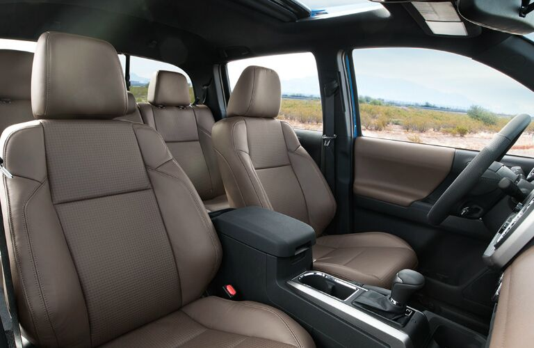 The interior of the 2016 Toyota Tacoma Randolph VT is extremely intuitive and meets drivers' needs.
