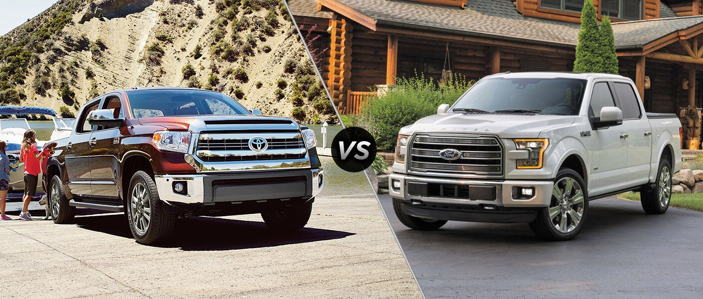 2016 Toyota Tundra vs 2016 Ford F-150 at White River Toyota