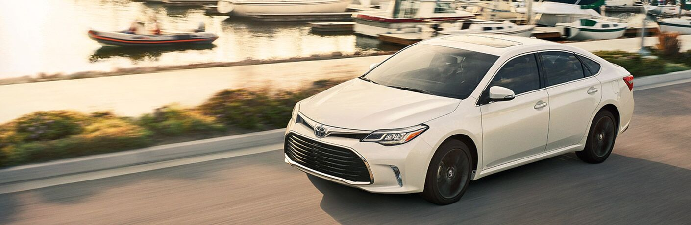 2018 Toyota Avalon driving on road.