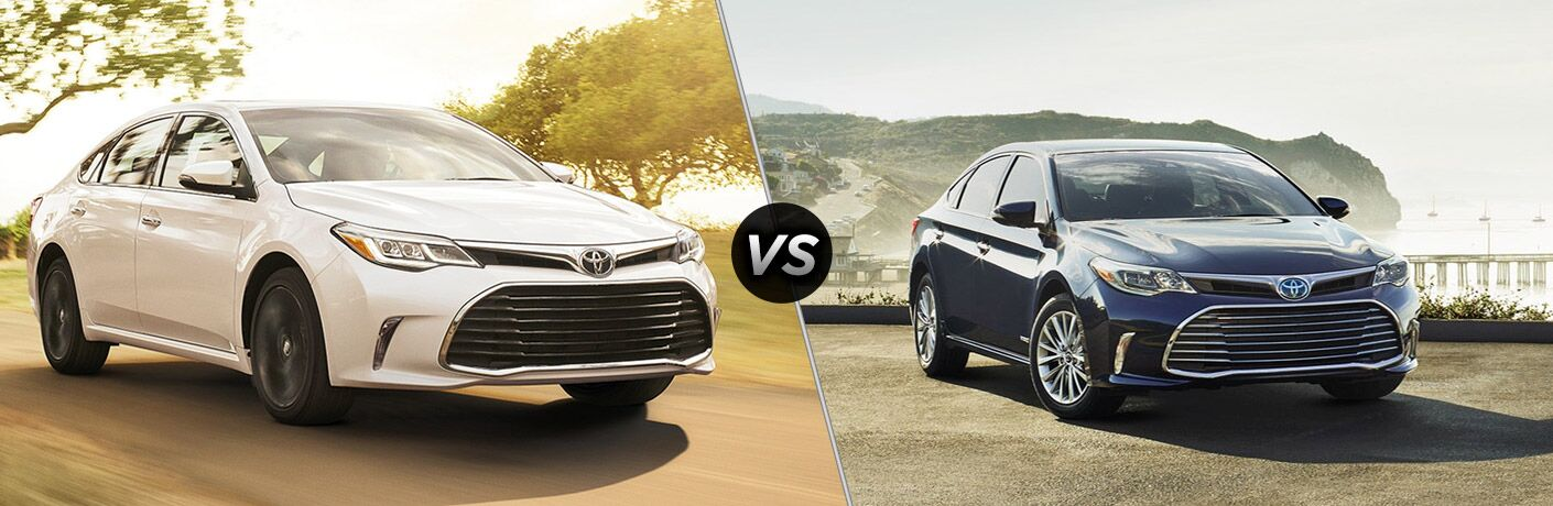 2018 Toyota Avalon vs 2017 Toyota Avalon