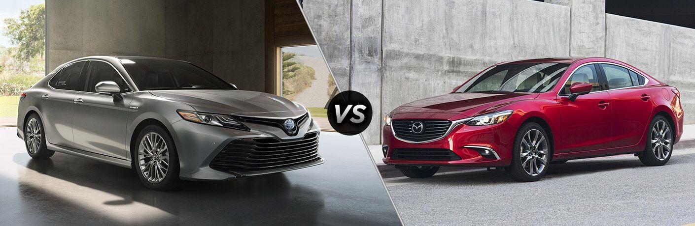 2018 Toyota Camry vs 2018 Mazda6