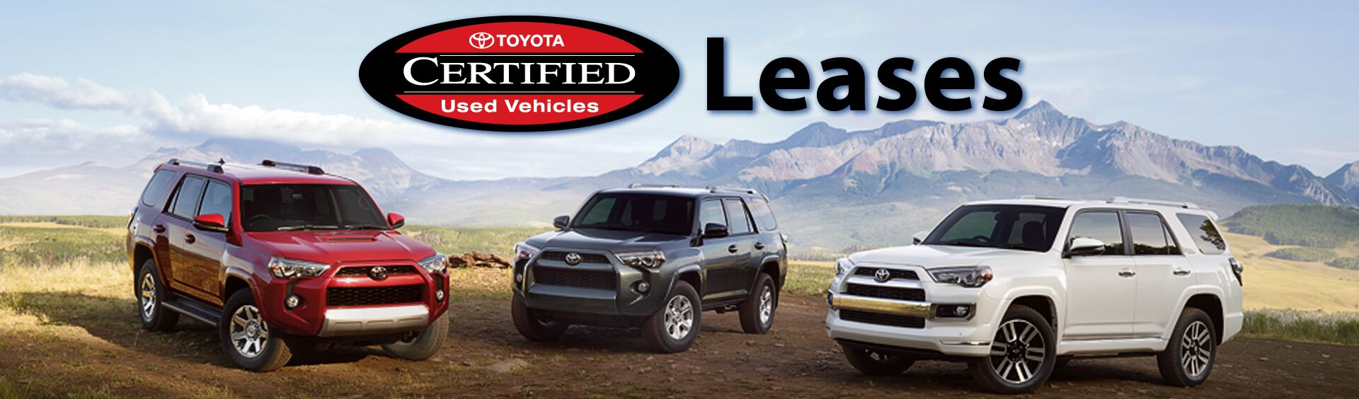 Toyota certified used vehicle leases