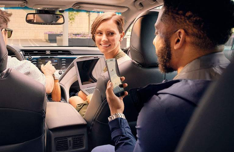 2018 Toyota Camry is packed with the latest Toyota technology innovations