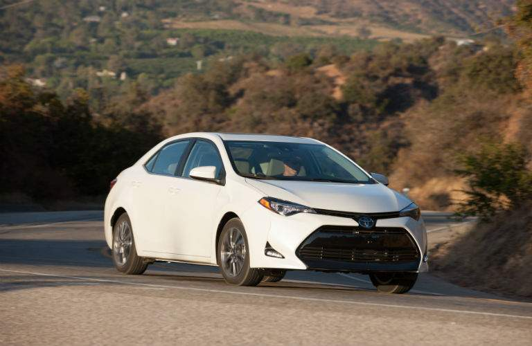The LE Eco trim of the 2018 Corolla has special aerodynamic features for maximum fuel efficiency