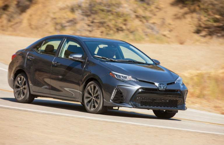 The Corolla XLE really starts to show the kind of refinement available with the compact sedan