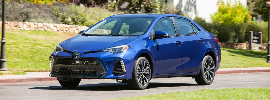 What did Toyota change with the 2018 Toyota Corolla?
