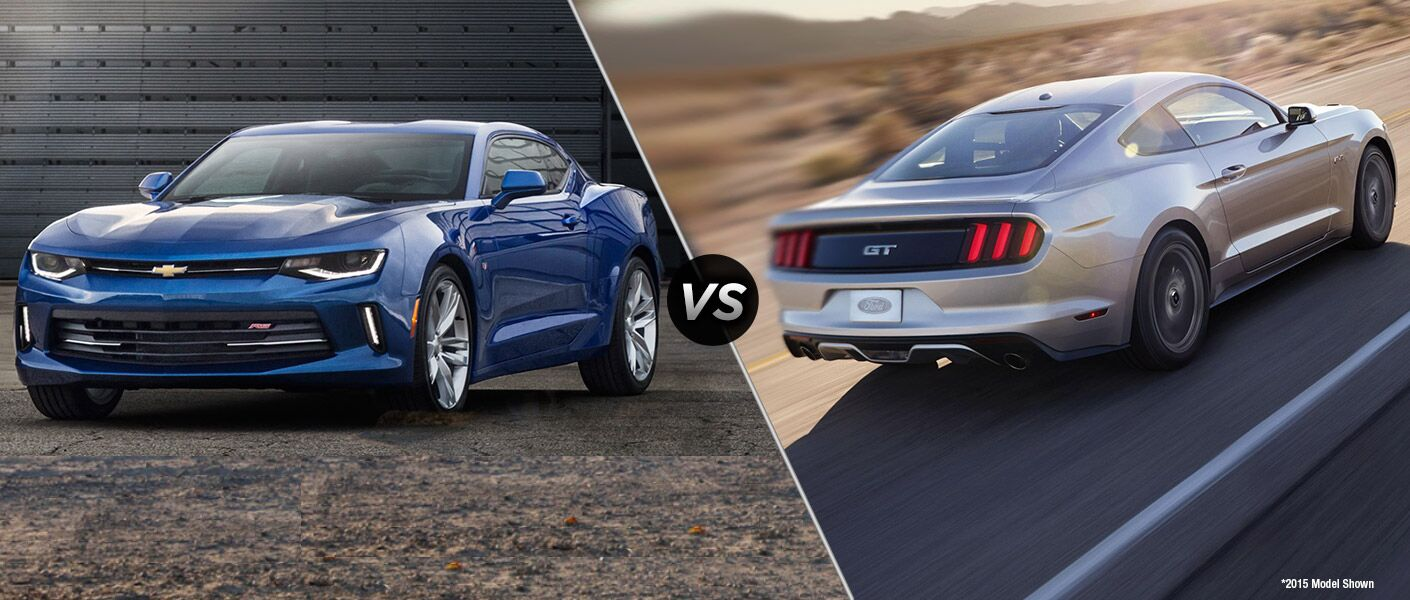 2016 Chevy Camaro vs 2016 Ford Mustang