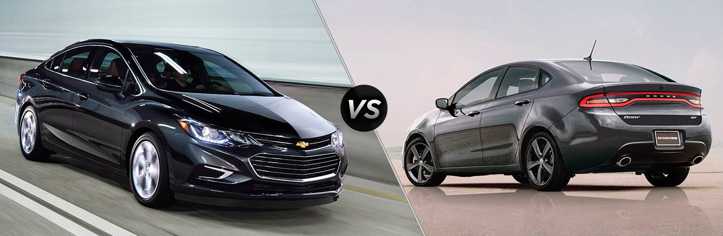 2016 Chevy Cruze  vs 2016 Dodge Dart