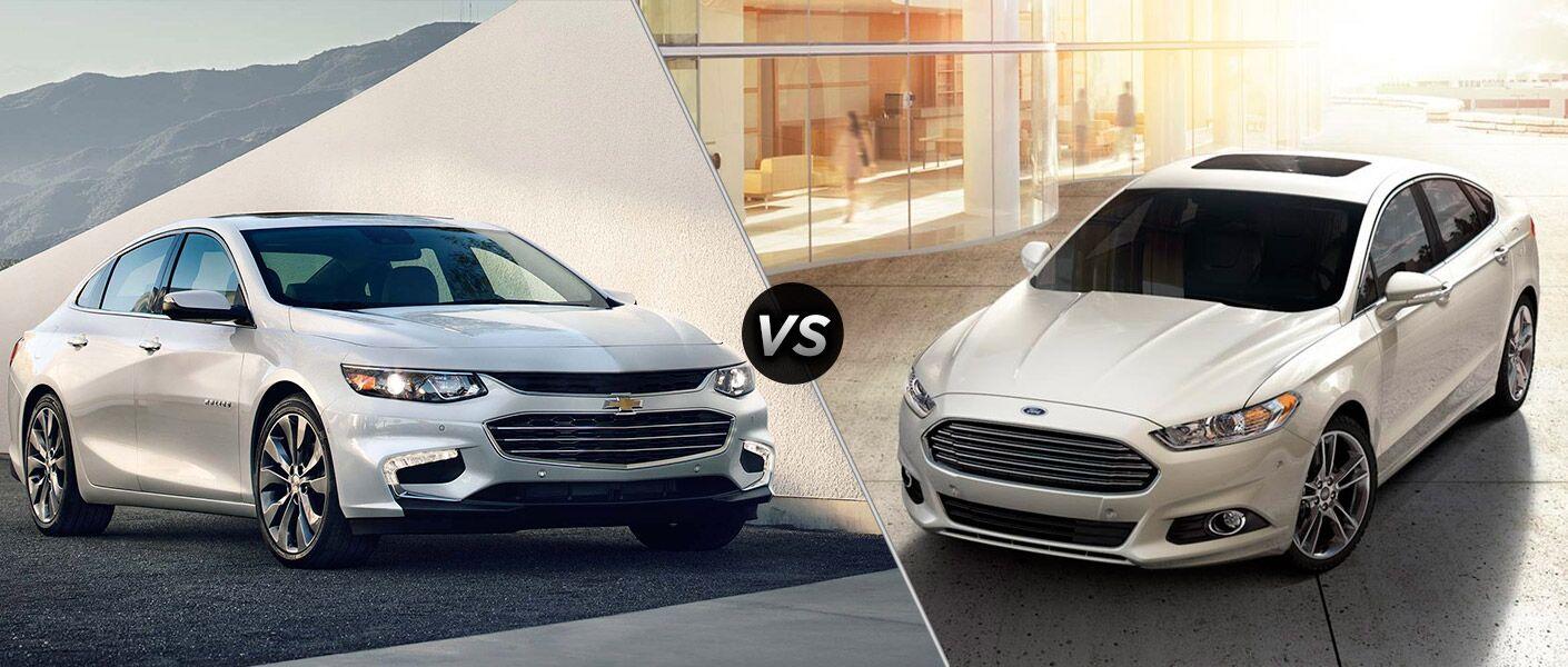 2016 Chevy Malibu vs 2016 Ford Fusion Parks Chevrolet