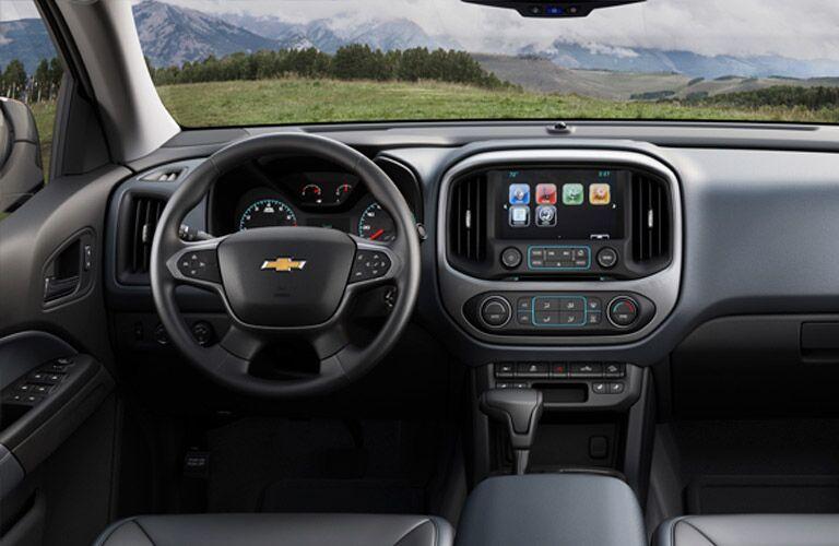 Chevy MyLink features 2016 Colorado