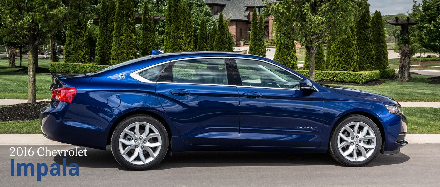 2016 Chevy Impala safety features