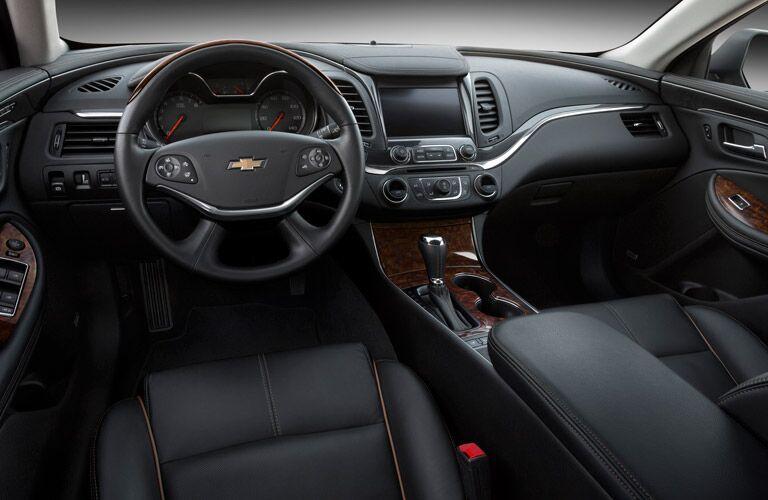 2016 Chevy Impala navigation system Parks Chevrolet