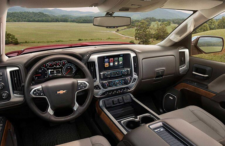 2016 Chevy Silverado 2500HD engine options