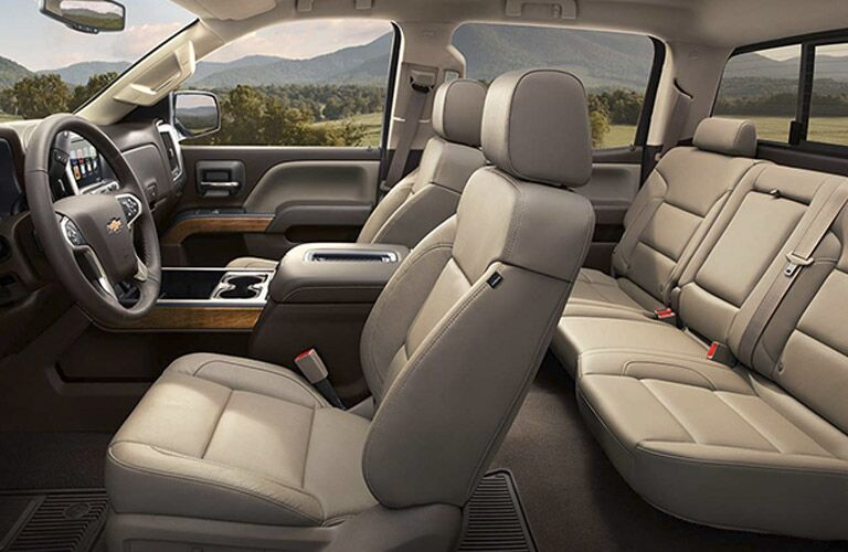2016 Silverado 3500HD seating options