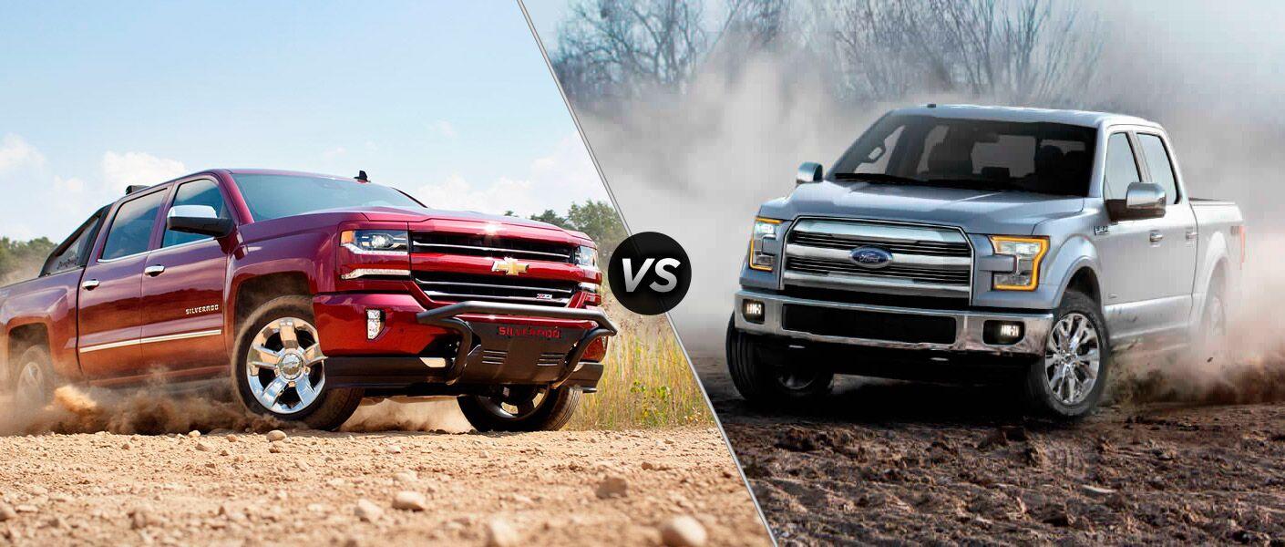 2016 Chevy Silverado comparison Parks Motors Wichita Augusta KS