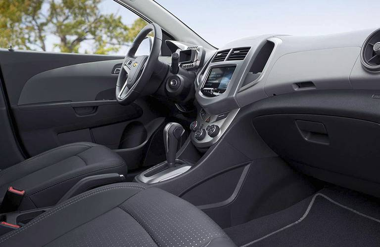 2016 Chevy Sonic EPA interior volume