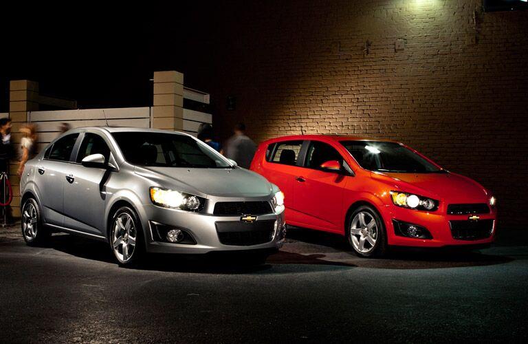 2016 Chevy Sonic Hatchback Parks Chevrolet