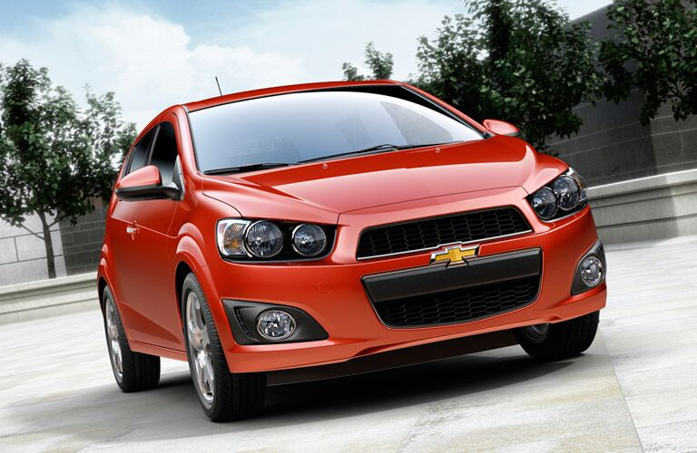 2016 Chevy Sonic color options