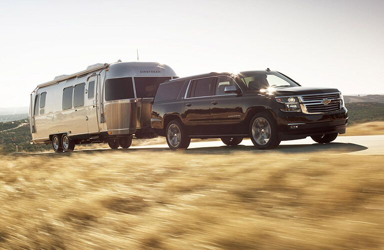 2016 Chevy Suburban towing capacity